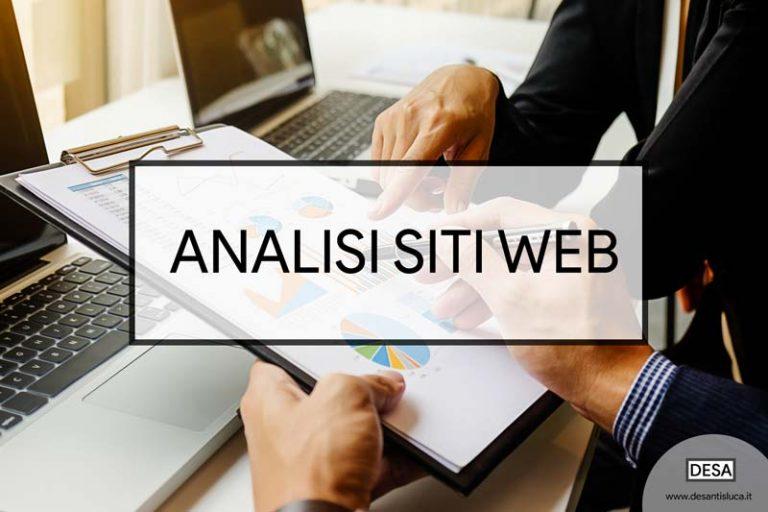 analisi-siti-web-seo-audit-consulente freelance esperto milano | DESA Luca De Santis